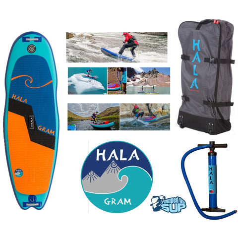"SALE - HALA GRAM Inflatable SUP 2017 (8'0"" x 30"" x 4.75"")"