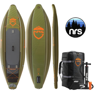 "NRS HERON FISHING 11'0""x39"" Inflatable Stand Up Paddle Board SUP 2019"