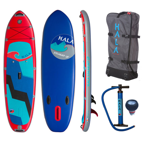 "Hala Straight Up 10""x33"" Inflatable Stand Up Paddle Board"