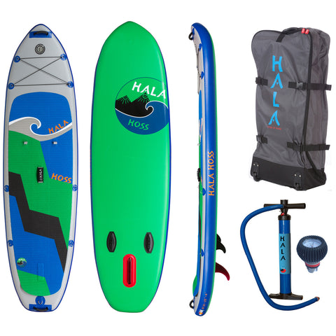 "Hala Hoss 10'10""x35"" Inflatable Stand Up Paddle Board"