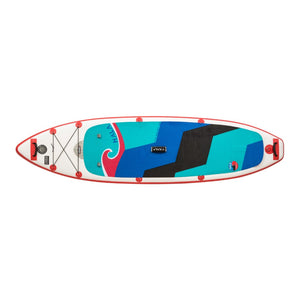 "HALA CARBON STRAIGHT UP Inflatable SUP (10'6 x 32"" x 6"")"