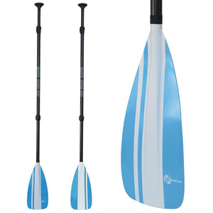 Earth River SUP NRF Blade + CARBON Shaft 3 Piece Travel Paddle