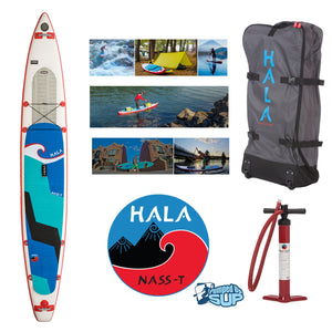 "HALA CARBON NASS-T Inflatable SUP (14'0"" x 26"" x 6"")"