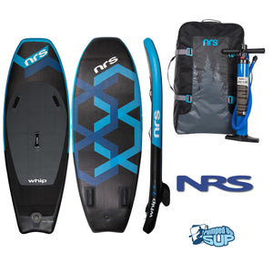 "NRS WHIP 7'8""x33"" Inflatable Stand Up Paddle Board SUP 2018"