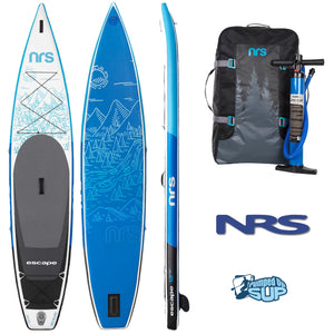 "NRS ESCAPE 12'6""x30"" LIMITED EDITION Inflatable Stand Up Paddle Board SUP 2018"
