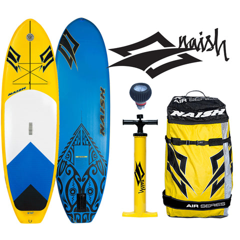 "Naish MANA AIR 9'10x34"" Inflatable Stand Up Paddle Board 2016 - FREE SHIPPING"