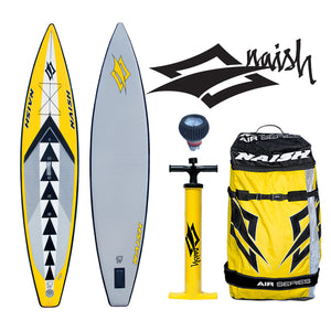 "Naish ONE AIR 12'6""x30"" Inflatable Stand Up Paddle Board 2016"