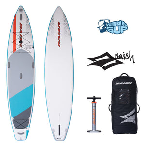 "Naish GLIDE AIR 12'6""x32"" Inflatable Stand Up Paddle Board 2020"