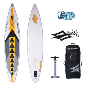 "Naish ONE AIR 12'6""x30"" Inflatable Stand Up Paddle Board"