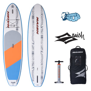 "Naish NALU AIR 11'6""x34"" Inflatable Stand Up Paddle Board"