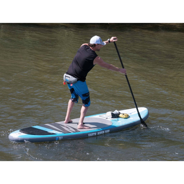 "Earth River SUP 11-0 V-II Inflatable Paddle Board 2017 (11'0""x34""x5"")"