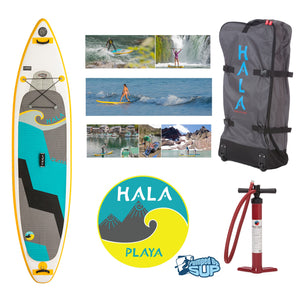 "HALA CARBON PLAYA Inflatable SUP (10'11"" x 30"" x 4.75"")"
