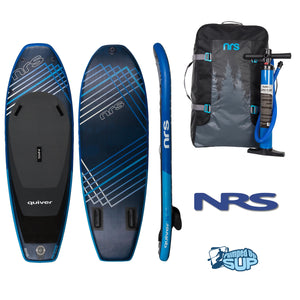 "NRS QUIVER 8'8""x34"" Inflatable Stand Up Paddle Board SUP 2018"