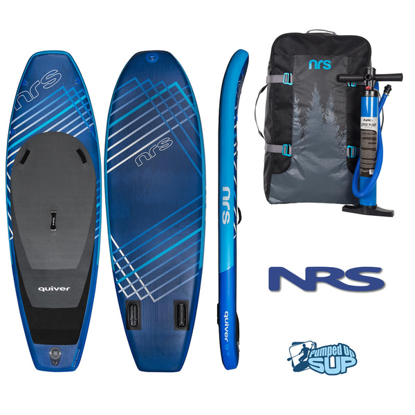 "NRS QUIVER 9'8""x36"" Inflatable Stand Up Paddle Board SUP 2018"