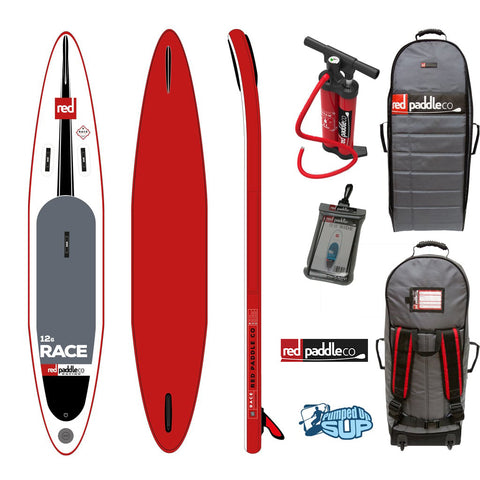 "Red Paddle Co RACE MSL 12'6""x27"" Inflatable Stand Up Paddle Board SUP 2017"