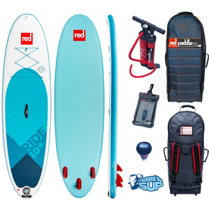 Red Paddle Co 10'8 Ride Inflatable Paddle Board