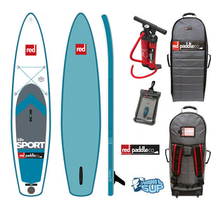 "Red Paddle Co SPORT MSL 12'6""x30"" Inflatable Stand Up Paddle Board SUP 2017"