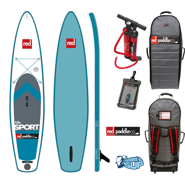 "SALE - Red Paddle Co SPORT MSL 12'6""x30"" Inflatable Stand Up Paddle Board SUP 2017"