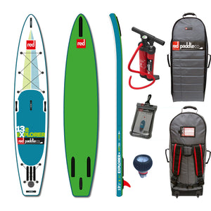 "SALE - Red Paddle Co EXPLORER 13'2""x30"" Inflatable Stand Up Paddle Board 2016"