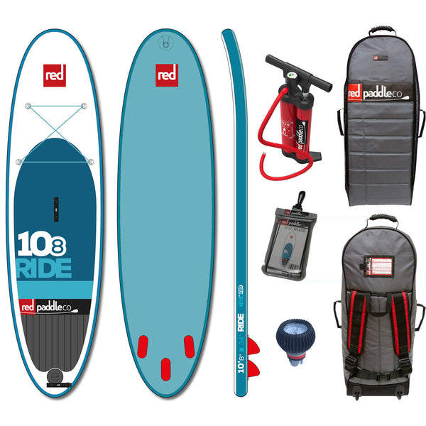"Red Paddle Co RIDE 10'8"" x 34"" Inflatable Stand Up Paddle Board 2015"