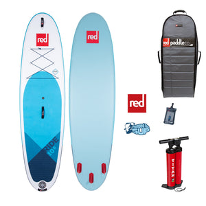 "Red Paddle Co RIDE MSL 10'8""x34"" Inflatable Stand Up Paddle Board 2020"