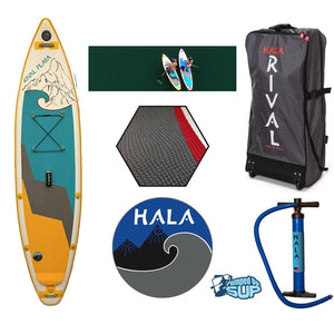 "HALA RIVAL PLAYA Inflatable SUP (11'0"" x 32"" x 6"")"
