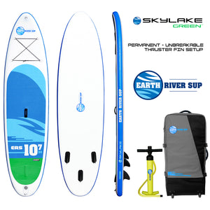 "Earth River SUP 10-7 SKYLAKE GREEN™ Inflatable Paddle Board 2018 (10'7""x32""x5"")"
