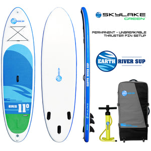 "Earth River SUP 11-0 SKYLAKE GREEN™ Inflatable Paddle Board 2018 (11'0""x34""x5"")"