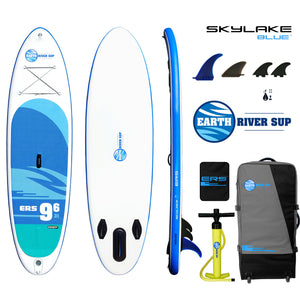 "Earth River SUP 9-6 SKYLAKE BLUE™ Inflatable Paddle Board 2019/2020 (9'6""x31""x5"")"