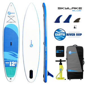 "Earth River SUP 12-6 SKYLAKE BLUE™ Inflatable Paddle Board 2019 (12'6""x32""x6"")"
