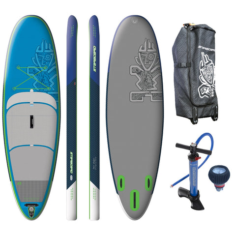 "SALE - Starboard WHOPPER Deluxe 10'0""x35"" Inflatable Stand Up Paddle Board 2016"