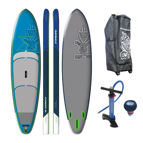 "Starboard BLEND Deluxe 11'2""x32"" Inflatable Stand Up Paddle Board 2016"