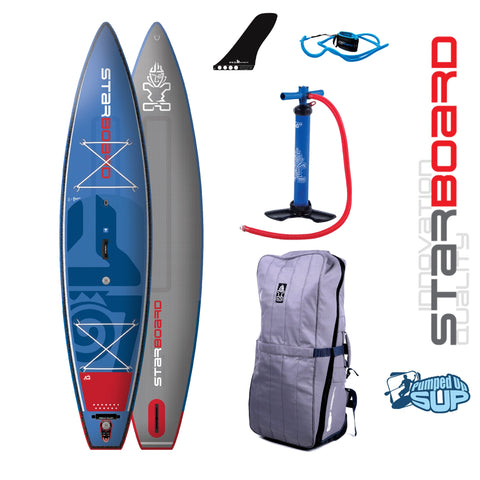 "Starboard TOURING DELUXE Inflatable SUP 2018 (12'6""x31""x6"")"