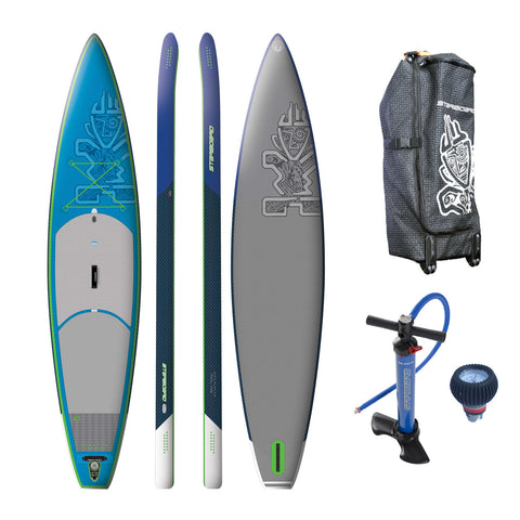 "Starboard TOURING 12'6""x31"" DELUXE Inflatable Stand Up Paddle Board 2016"