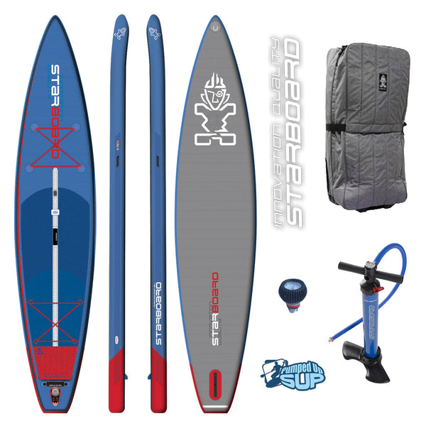 "Starboard TOURING 12'6 Deluxe Inflatable SUP 2017 (12'6""x31""x6"")"