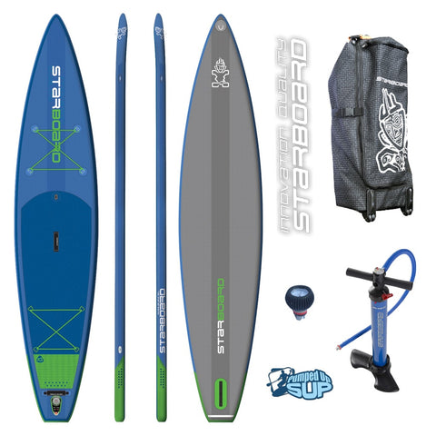 "Starboard TOURING 12'6 Zen Inflatable SUP 2017 (12'6""x31""x6"")"