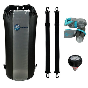 ADD a GEAR PACK (Waterproof Dry Bag + Car Straps + Pressure Gauge) with this board purchase