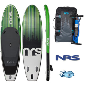 "NRS Thrive 11'0""x36"" Inflatable Stand Up Paddle Board SUP 2018"