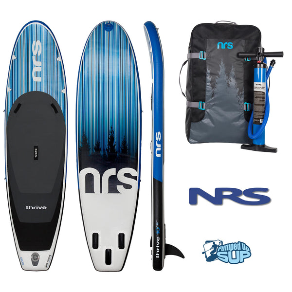 "NRS THRIVE 10'8""x34"" Inflatable Stand Up Paddle Board SUP 2018"