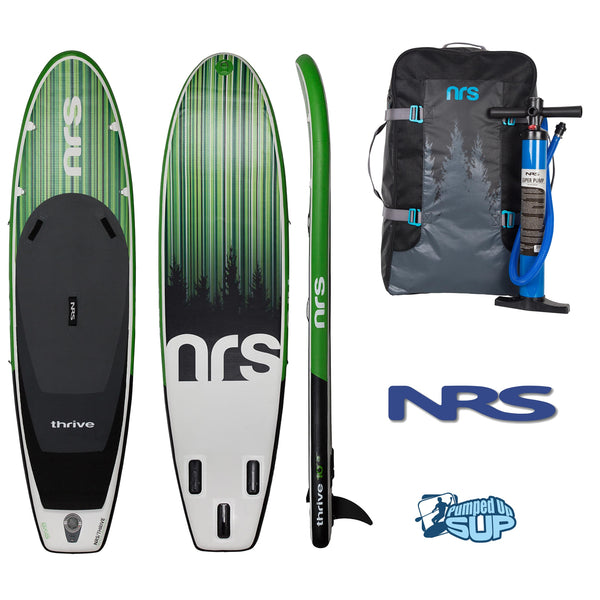 "NRS Thrive 10'3""x32"" Inflatable Stand Up Paddle Board SUP 2018"