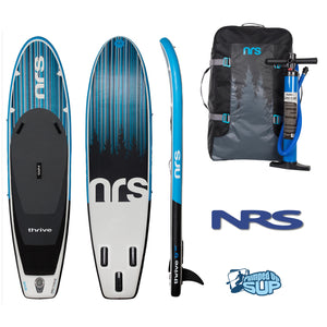 "NRS Thrive 9'10""x30"" Inflatable Stand Up Paddle Board SUP 2018"