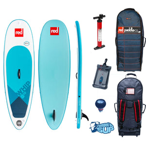 "Red Paddle Co WHIP 8'10""x29"" Inflatable Stand Up Paddle Board 2019"