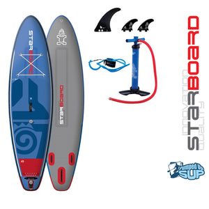 "Starboard WIDE POINT DELUXE Inflatable SUP 2018 (10'5""x32""x6"")"