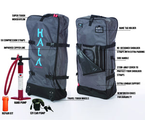 "HALA CARBON NASS 12'6 Inflatable SUP (12'6 x 30"" x 6"")"