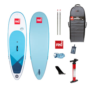 "Red Paddle Co WHIP 8'10""x29"" Inflatable Stand Up Paddle Board 2020"