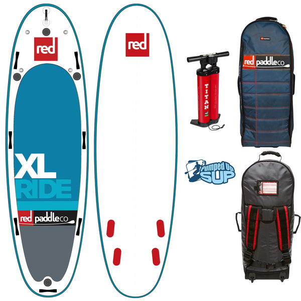 "Red Paddle Co RIDE XL 17'0""x60"" Inflatable Stand Up Paddle Board 2018"
