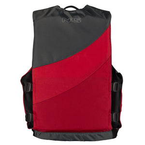 NRS Crew YOUTH Universal PFD - RED