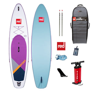 "Red Paddle Co SPORT SPECIAL EDITION 11'3""x32"" Inflatable Stand Up Paddle Board 2020"
