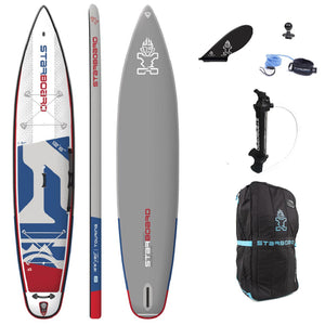 "Starboard iGO DELUXE TOURING Inflatable SUP (12'6""x30""x6"")"