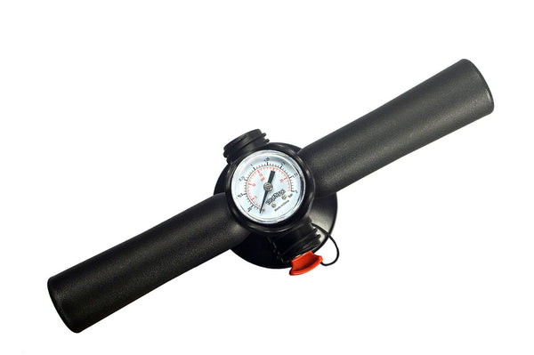 Bravo High Pressure SUP Pump With 22 PSI Pressure Gauge